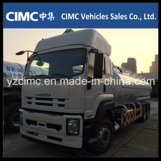 Isuzu Qingling Vc46 6X4 350HP Fuel Tanker Truck, Fuel Tank Truck with 20kl Euro4 pictures & photos