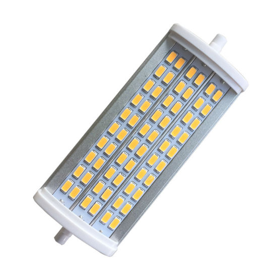 Aluminum Plastic Cover 5630SMD 135mm 15W R7s LED Flood Light Bulb pictures & photos