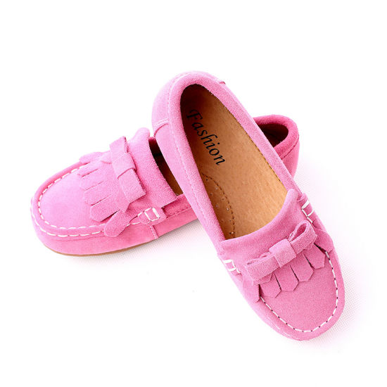 Wholesale PU Casual Children Walking Kids Sneaker Loafer Shoes pictures & photos