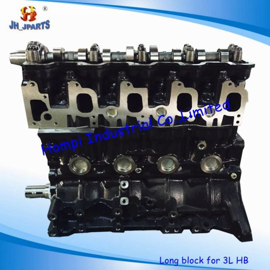 Auto Engine Long Block for Toyota 3L 2L/5L/3rz/2tr/2kd/3sz/2az/2rz/K3/K5