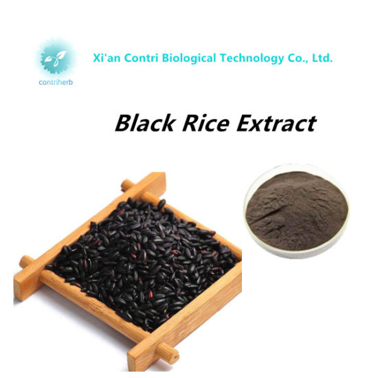 Pure Natural Anthocyanin Black Rice Extract pictures & photos