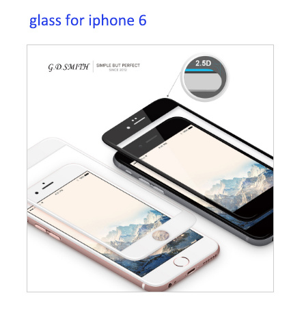 Original New Tempered Glass for iPhone 6 & 6 Plus