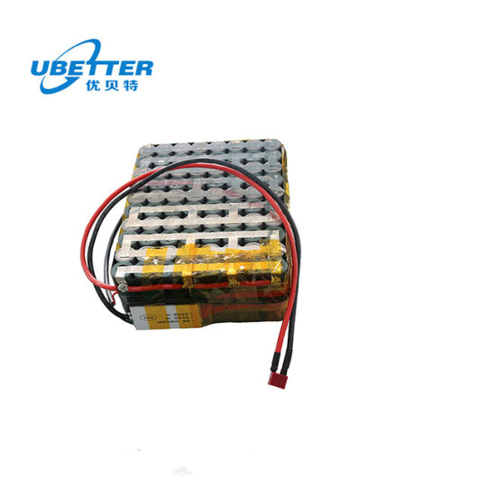 Factory Direct Sale 18650 36V 24ah Lithium-Ion Battery Packs 10s8p for Electric Bike