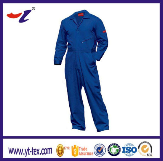 Safety Coverall Workwear with Proban Flame Retardant