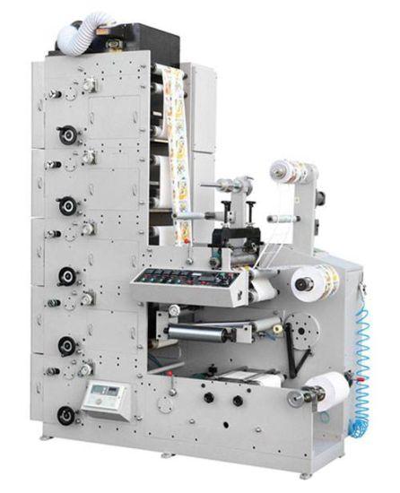 Sticker Label Paper Flexo Printing Machine