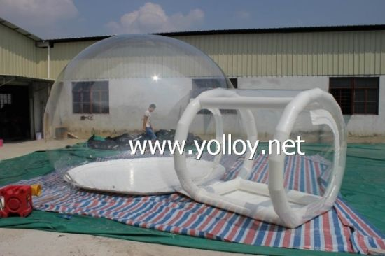 Outdoor Inflatable Camping Clear Beach Tent