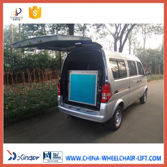 Aluminium Manual Wheelchair Ramp for Van (BMWR-3) pictures & photos
