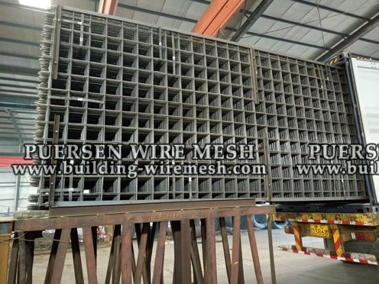 Ribbed Steel Welded Mesh pictures & photos