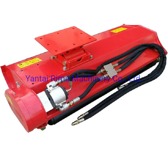 Agricultural Machinery Hydraulic Lawn Mower Grass Cutter Flail Mower for Excavator