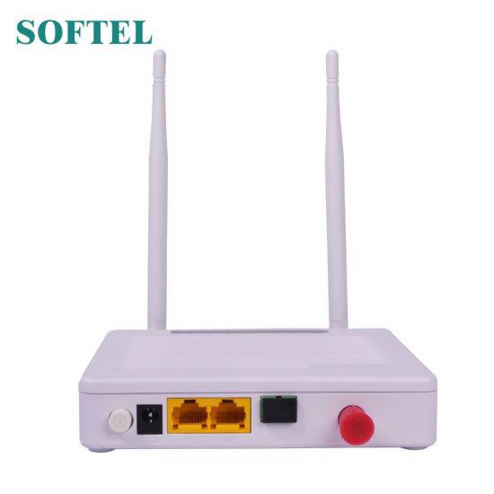 China 1ge+1fe+WiFi+CATV Gpon and Epon Dual Mode Hgu ONU FTTH