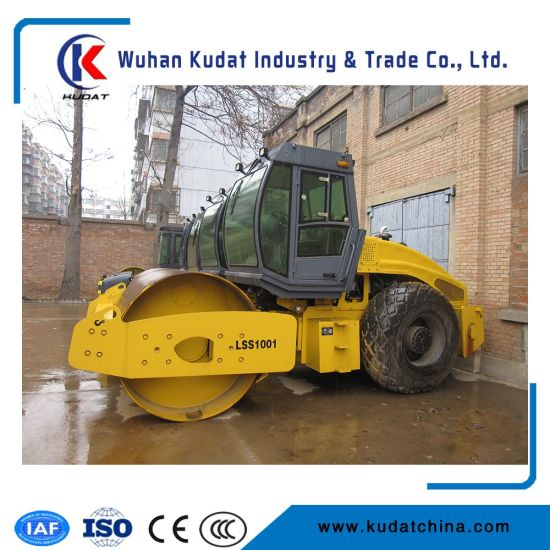 Pressure Roller of Lss1001 for Sale (10000kgs road roller, single drum road roller)