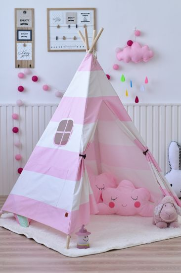 Canvas Material Kids Indoor Teepee C&ing Kid Play Indian Tent Children Kids Play Teepee Tent & China Canvas Material Kids Indoor Teepee Camping Kid Play Indian ...