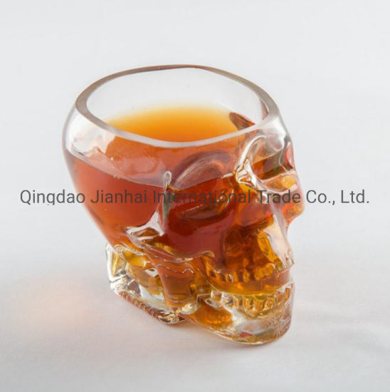 Creative Crystal Skull Glass Vodka Skull Glass