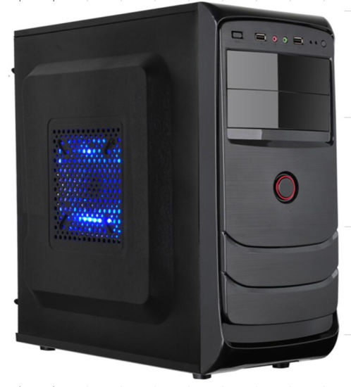 China Computer Parts Full Tower ATX PC Case with Drawing Highlights ...