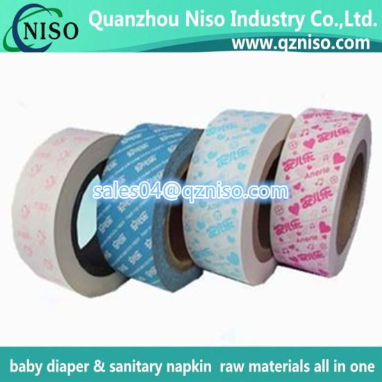 Hygienic Raw Materials Release Paper for Sanitary Napkin Factory