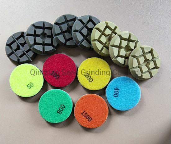 Resin Diamond Floor Polishing Pad, Grinding Disc for Stone and Concrete Floor