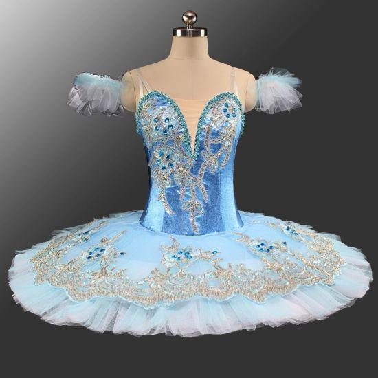 88bb935d0 Professional Blue Sliver Girls Ballet Dance Performance Wear Blue Bird  Ballet Tutu
