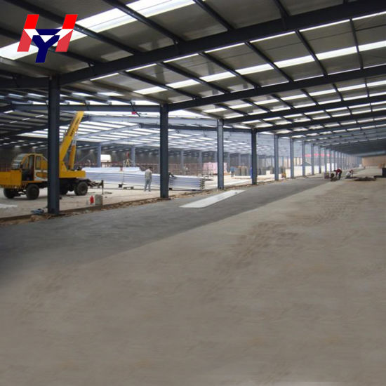 Prefabricated Structural Steel Structure for Buildings