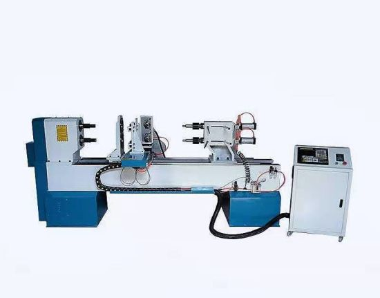 China 1530 Double Axis CNC Wood Lathe Machine with Vertical