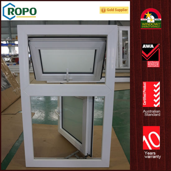 China PVC Residential Exterior Glass Windows and Doors - China PVC ...