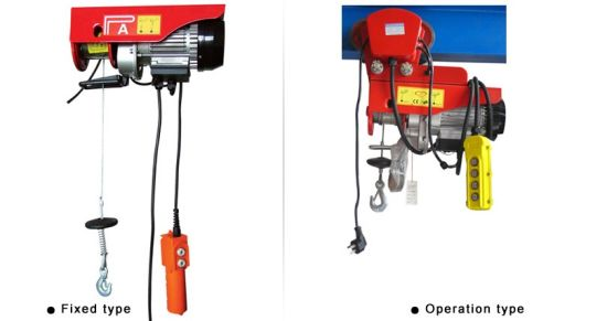 Mini Electric Hoist with Wire Rope pictures & photos
