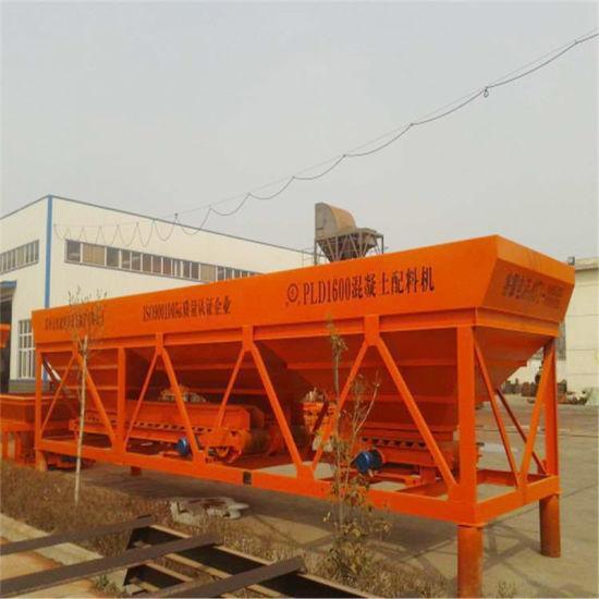 Construction Batching Equipment PLD Concrete Batching Machine