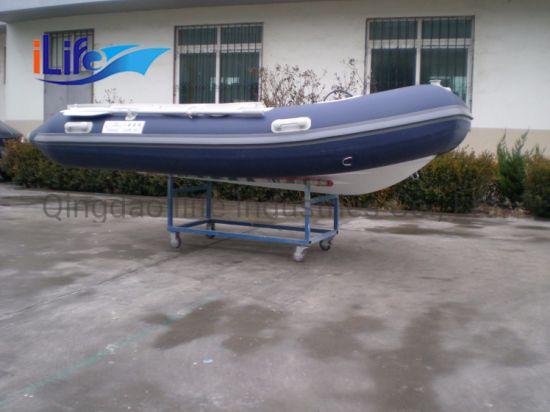 Ilife Ce Certification Rib330 PVC/Hypalon Fishing Rigid Inflatable Boat