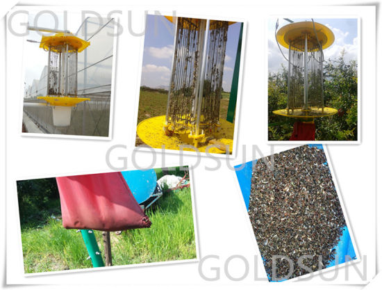 Solar Pest/Insect Killer Lamp Used in Farm, Greenhouse, Garden, Orchard pictures & photos