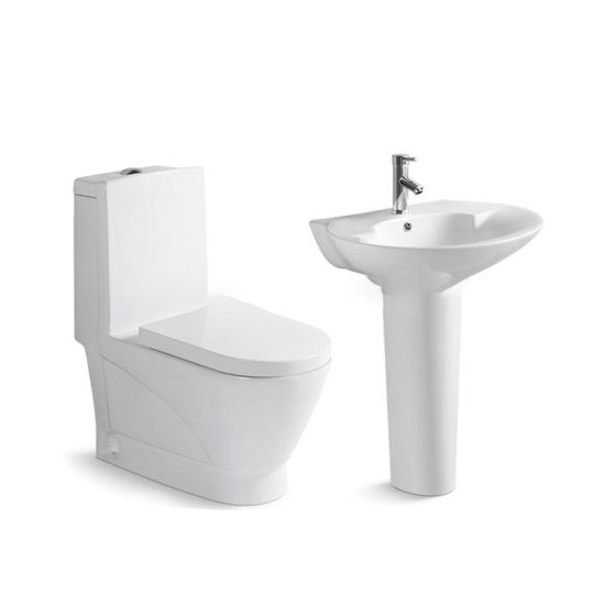 Sanitary Ware Bathroom Cheap Chinese One Piece Siphonic Ceramic Wc Closestool Flush Toilet Bowl Seat