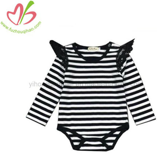 1b2789498 China Fashion Unicorn Stripe Baby Girl Long Sleeve Onesie - China ...