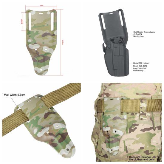 Belt Holster Molle Durable Leg Drop Military Pistol Holster Cl7-0074