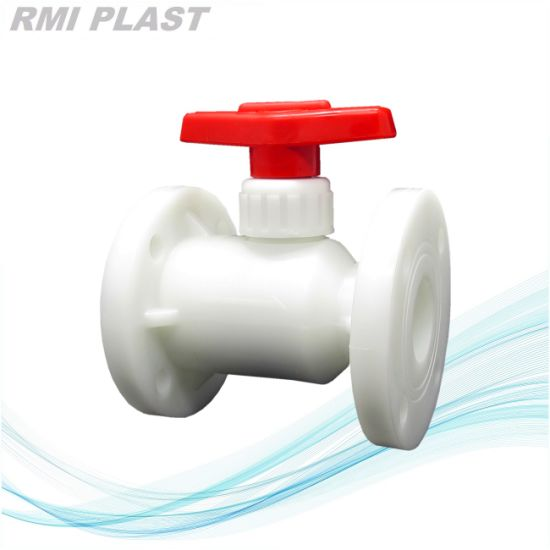 Lever Type Pph Flange Ball Valve pictures & photos