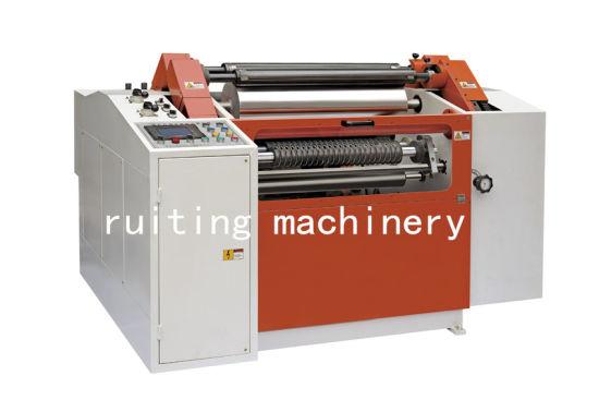 Pmfq-1300 Auto PVC Foil Centre Surface Curly Slitting Machine