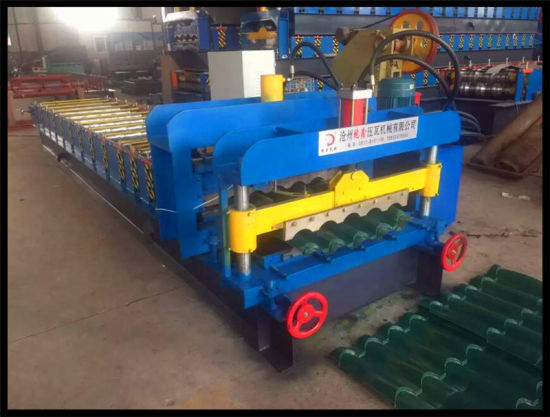 Dx Metal Glazed/Trapezoidal Roof Tile Roll Forming Machine pictures & photos