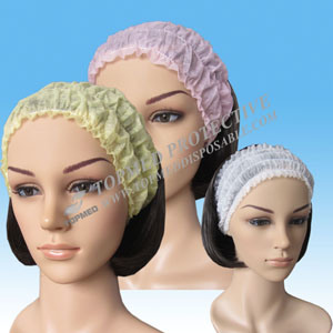 Nonwoven Disposable Hair Band, Nonwoven Headband for Beauty Salon pictures & photos