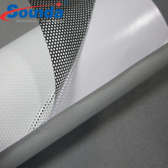 High Quality Perforated Vinyl One Way Vision Film for Car Windows