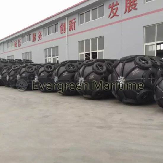 4.5 M X 9.0 M Yokohama Typ Pneumatic Rubber Fenders/ Defense From China pictures & photos