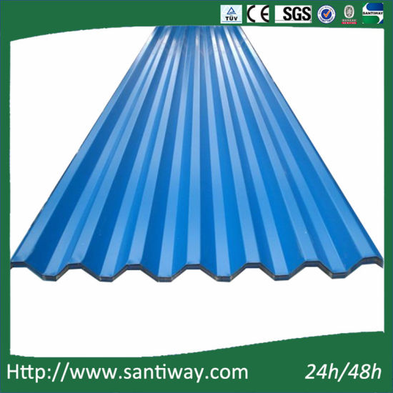 Ce Certificate Color Coated Steel Roofing Tile Sheets
