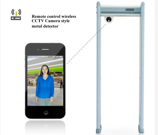 Metal Detectos Walk Through Gate Full Body Scanner pictures & photos