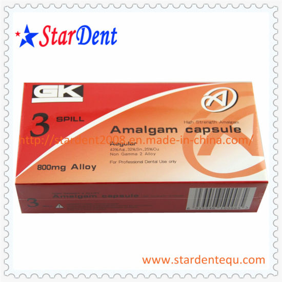 Hot 200mg Gk Amalgam Capsules of Dental Medical Products pictures & photos