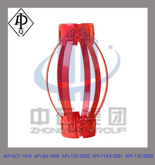 API Hinged Bow Casing Centralizer with High Restoring Force