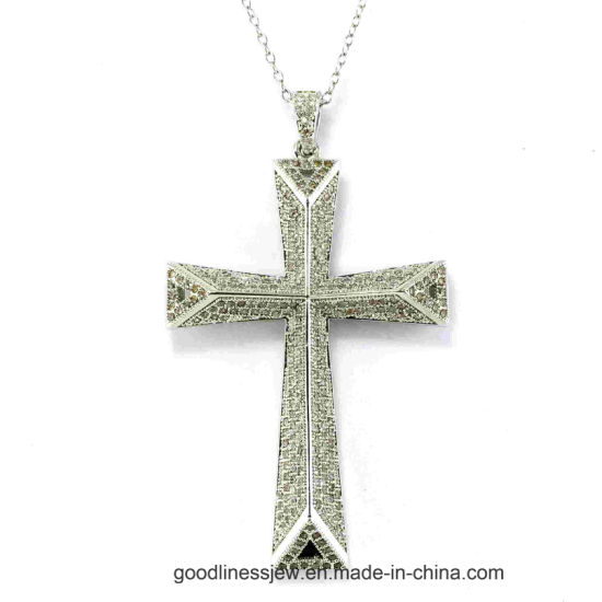 New Listing Fashion 925 Sterling Silver Cross Pendant P4999 pictures & photos