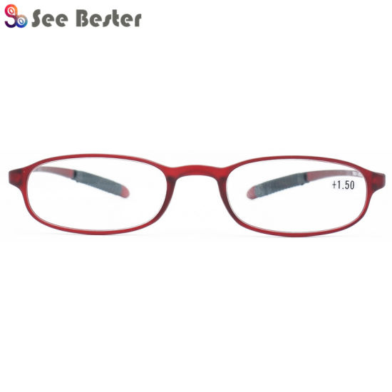 3d07712654 Crazy Selling 2018 New Cheap Prescription Tr90 Reading Glasses with Rubber  Tips