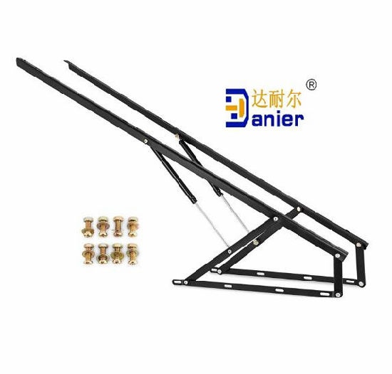 OEM Bed Gas Strut Lift Mechanism with Gas Springs