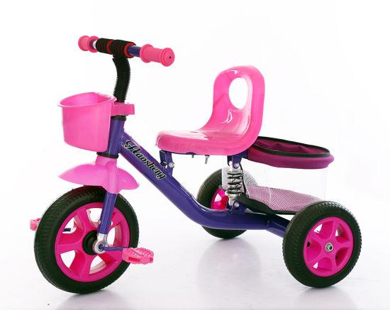 Kids Baby Tricycle with Shock Absorption Children Bike Pram