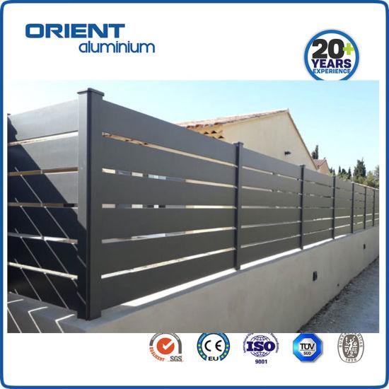 Aluminium Fence Panel Aluminium Slat Fencing Factory