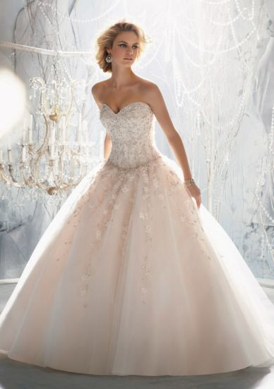 China 2014 Best Selling a-Line Bridal Wedding Gowns (WMA3060 ...