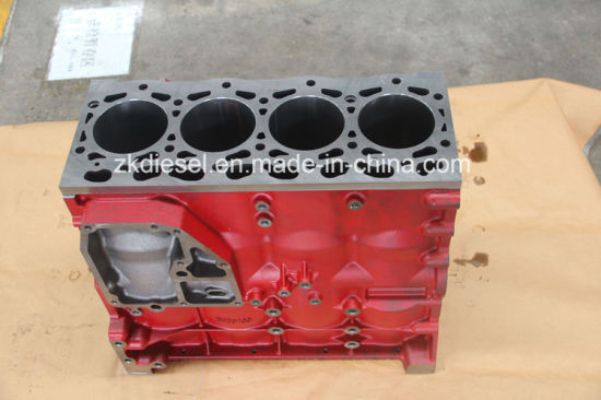 Manufacture Cylinder Block Isf3.8 Cummins Block 5289696/5261256/5289698/5256400 pictures & photos