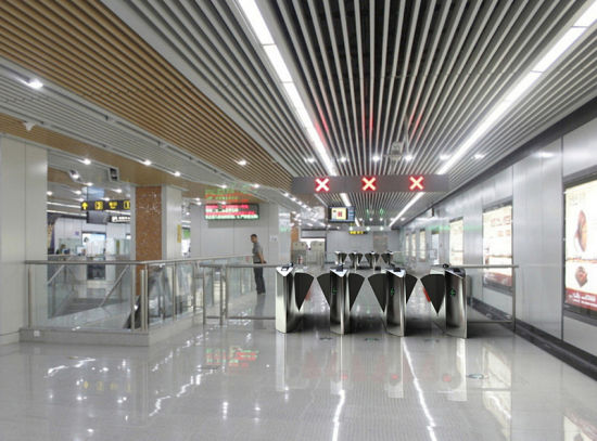 Entrance Half Height Flap Barrier Turnstile pictures & photos
