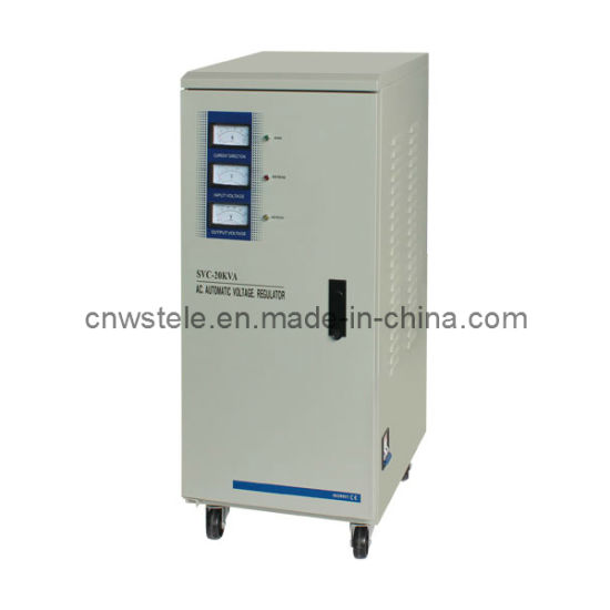 Three Phase High Accuracy Full Automatic AC Voltage Stabilizer (SVC/TNS) pictures & photos